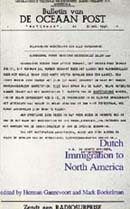 Dutch Immigration to North America