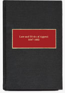 Laws and Writs of Appeal (1647-1663)