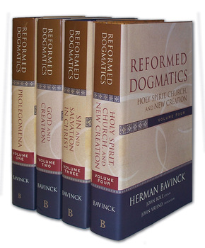 Reformed Dogmatics Set of 4 Volumes
