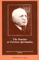 The Practice of Political Spirituality